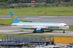 meijeanさんが、成田国際空港で撮影したウズベキスタン航空 767-33P/ERの航空フォト(写真)