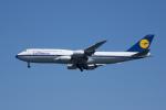 かずまっくすさんが、羽田空港で撮影したルフトハンザドイツ航空 747-830の航空フォト(写真)