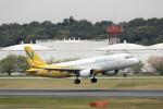 にしやんさんが、成田国際空港で撮影したバニラエア A320-214の航空フォト(写真)