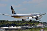 吉田高士さんが、成田国際空港で撮影したシンガポール航空 777-312/ERの航空フォト(写真)