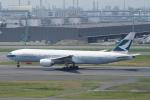 pringlesさんが、羽田空港で撮影したキャセイパシフィック航空 777-267の航空フォト(写真)