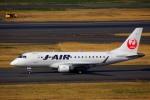 KAZKAZさんが、羽田空港で撮影したジェイ・エア ERJ-170-100 (ERJ-170STD)の航空フォト(写真)