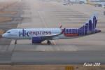 RINA-200さんが、関西国際空港で撮影した香港エクスプレス A320-271Nの航空フォト(写真)