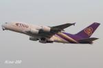 RINA-200さんが、関西国際空港で撮影したタイ国際航空 A380-841の航空フォト(写真)