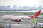 xiel0525さんが、羽田空港で撮影したエア・インディア 747-437の航空フォト(写真)