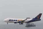 Fly Yokotayaさんが、香港国際空港で撮影したアトラス航空 747-47UF/SCDの航空フォト(写真)
