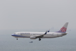 Fly Yokotayaさんが、香港国際空港で撮影したチャイナエアライン 737-809の航空フォト(写真)
