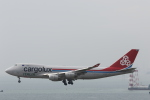 Fly Yokotayaさんが、香港国際空港で撮影したカーゴルクス・イタリア 747-4R7F/SCDの航空フォト(写真)
