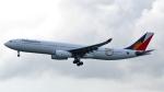 誘喜さんが、香港国際空港で撮影したフィリピン航空 A330-343Xの航空フォト(写真)