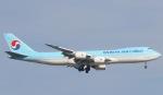 Seiiさんが、シンガポール・チャンギ国際空港で撮影した大韓航空 747-8B5F/SCDの航空フォト(写真)