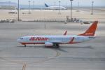 ワイエスさんが、中部国際空港で撮影したチェジュ航空 737-8ASの航空フォト(写真)