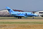 はるかのパパさんが、宇都宮飛行場で撮影した航空自衛隊 U-125A(Hawker 800)の航空フォト(写真)