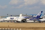 OS52さんが、成田国際空港で撮影した全日空 787-881の航空フォト(写真)