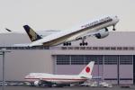 zettaishinさんが、羽田空港で撮影したシンガポール航空 A350-941XWBの航空フォト(写真)
