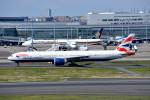 トロピカルさんが、羽田空港で撮影したブリティッシュ・エアウェイズ 777-36N/ERの航空フォト(写真)