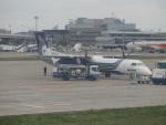 JA8037さんが、成田国際空港で撮影したオーロラ DHC-8-402Q Dash 8の航空フォト(写真)
