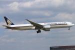 ceskykrumlovさんが、成田国際空港で撮影したシンガポール航空 777-312/ERの航空フォト(写真)