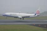 神宮寺ももさんが、高松空港で撮影したチャイナエアライン 737-8SHの航空フォト(写真)