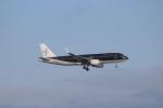 ハム太郎さんが、羽田空港で撮影したスターフライヤー A320-214の航空フォト(写真)