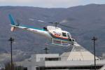 306SQ BlueThunderさんが、松本空港で撮影した東邦航空 AS350B Ecureuilの航空フォト(写真)