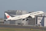 サリーちゃんのパパさんが、羽田空港で撮影した日本航空 777-346の航空フォト(写真)