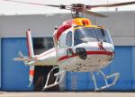 チャーリーマイクさんが、東京ヘリポートで撮影した朝日航洋 AS355F2 Ecureuil 2の航空フォト(写真)