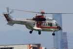 TAC MATSUさんが、八尾空港で撮影した朝日航洋 AS332L Super Pumaの航空フォト(写真)
