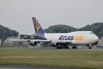 ユージ@RJTYさんが、横田基地で撮影したアトラス航空 747-481(BCF)の航空フォト(写真)