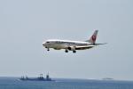 ゆっくんさんが、那覇空港で撮影した日本トランスオーシャン航空 737-446の航空フォト(写真)