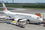 とおまわりさんが、宮古空港で撮影した日本トランスオーシャン航空 737-446の航空フォト(写真)