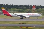 zettaishinさんが、成田国際空港で撮影したイベリア航空 A330-202の航空フォト(写真)