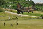 ゆっくんさんが、那覇空港で撮影した陸上自衛隊 CH-47JAの航空フォト(写真)