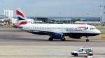 誘喜さんが、ロンドン・ヒースロー空港で撮影したブリティッシュ・エアウェイズ A320-232の航空フォト(写真)