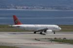 meijeanさんが、関西国際空港で撮影したトランスアジア航空 A320-232の航空フォト(写真)