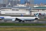 JA946さんが、羽田空港で撮影したキャセイパシフィック航空 777-367の航空フォト(写真)