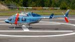 航空見聞録さんが、奈良県ヘリポートで撮影した奈良県警察 206L-3 LongRanger IIIの航空フォト(写真)