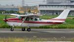 航空見聞録さんが、八尾空港で撮影した朝日航空 TU206G Turbo Stationair 6の航空フォト(写真)