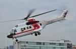Soraya_Projectさんが、東京ヘリポートで撮影した朝日航洋 AS332L1 Super Pumaの航空フォト(写真)
