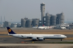 ハピネスさんが、羽田空港で撮影したルフトハンザドイツ航空 A340-642の航空フォト(写真)