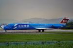 空軍一號さんが、台北松山空港で撮影した遠東航空 MD-83 (DC-9-83)の航空フォト(写真)