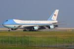 こすけさんが、岩国空港で撮影したアメリカ空軍 VC-25A (747-2G4B)の航空フォト(写真)