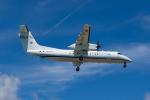 きゅうさんが、下地島空港で撮影した国土交通省 航空局 DHC-8-315Q Dash 8の航空フォト(写真)