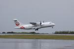 しかばねさんが、屋久島空港で撮影した日本エアコミューター ATR-42-600の航空フォト(写真)