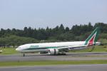 meijeanさんが、成田国際空港で撮影したアリタリア航空 777-243/ERの航空フォト(写真)