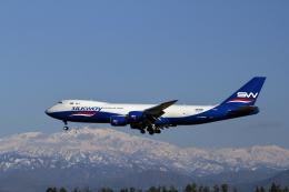 まっささんが、小松空港で撮影したシルクウェイ・ウェスト・エアラインズ 747-83QFの航空フォト(写真)