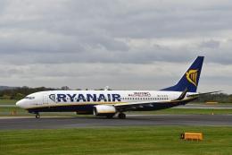 flytaka78さんが、マンチェスター空港で撮影したライアンエア 737-8ASの航空フォト(写真)