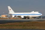 こすけさんが、横田基地で撮影したアメリカ空軍 E-4B (747-200B)の航空フォト(写真)