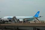 ぽっぽさんが、パリ シャルル・ド・ゴール国際空港で撮影したエア・トランザット A330-342の航空フォト(写真)