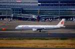 KAZKAZさんが、羽田空港で撮影した中国国際航空 A321-213の航空フォト(写真)