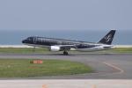 ワイエスさんが、北九州空港で撮影したスターフライヤー A320-214の航空フォト(写真)